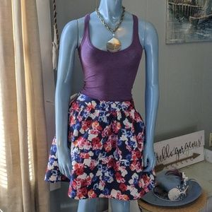 Express Skirts - Floral Puffy Skirt